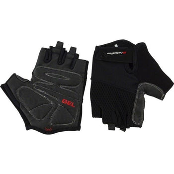 BellWether Gel Supreme Women's Short Finger Gloves BLACK XL