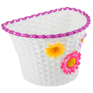Sunlite Classic Flower Basket Front PLSTC/WEAVE Strap SMALL 10x6