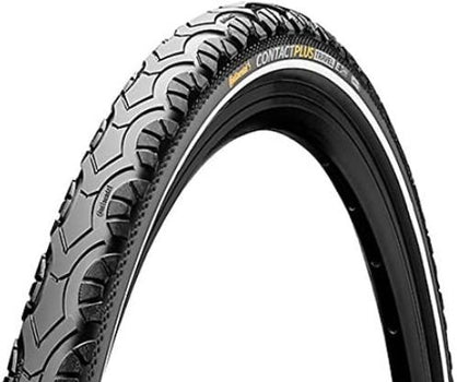 Continental Contact Plus Travel Bike Tire - All Terrain/E-Bike 26 X 2.0
