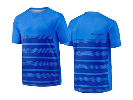 Giant Transcend Short Sleeve Jersey BLUE LARGE