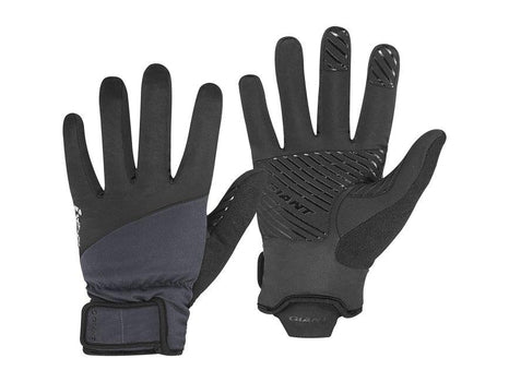 Giant Chill X Cold Weather Gloves BLACK MEDIUM