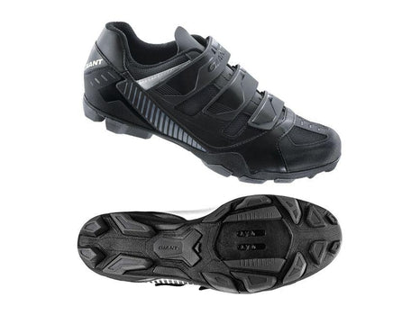 Giant Flux Off-Road Shoe Nylon Sole BLACK 47