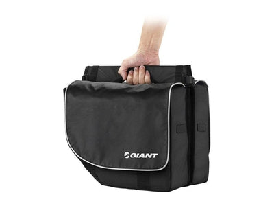 Giant City Pannier Set Bag Black