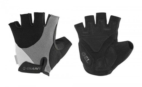 Giant Streak Gel Short Finger Gloves BLACK MEDIUM