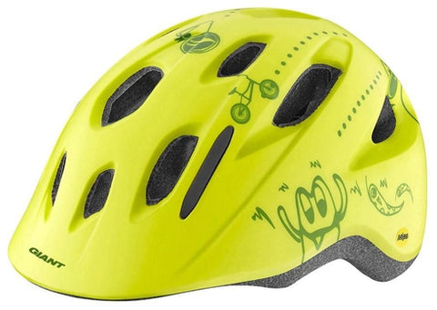 Giant Holler Youth Helmet OSFM YELLOW