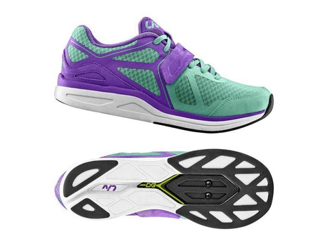 Giant Liv Avida Fitness Shoes MES GREEN / PURPLE 37