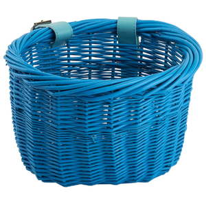 Sunlite Mini Willow Bushel Basket BLUE