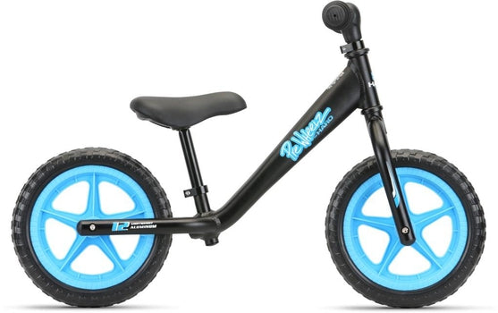 Haro PreWheelz 12 EVA Kids Bike BLACK ANODIZED OSFM