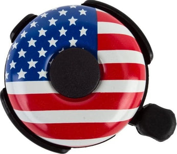 Pyramid American Flag Bicycle Bell 53mm