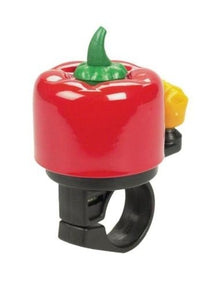 Dimension Hot Pepper Mini Bicycle Bell - RED