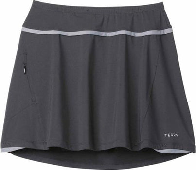 Terry Flare Skort Plus BLACK XXL
