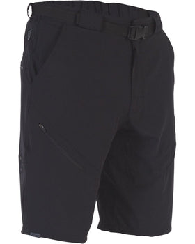 Zoic Black Market Shorts With Liner BLACK LARGE