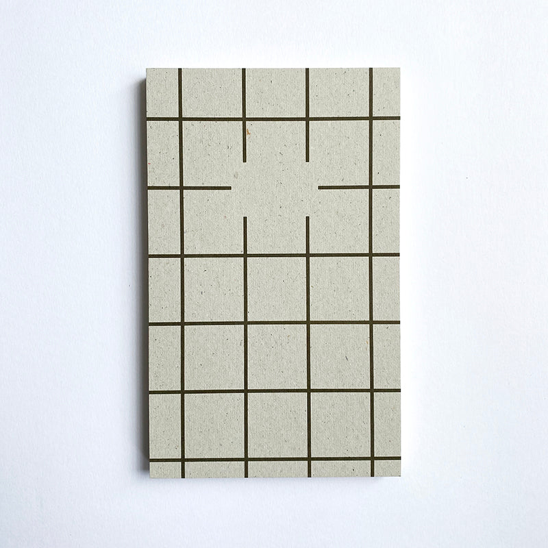 Paperways: Recycled Notepad - Check Paperways Stationery - Bon Tot