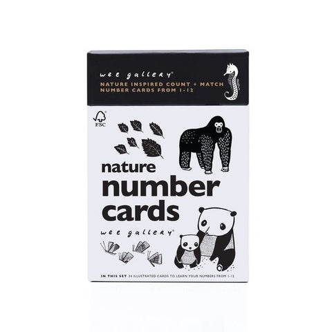 Wee Gallery: Nature Number Cards