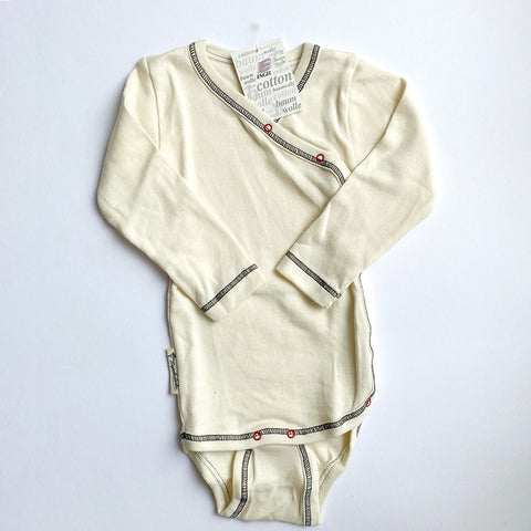 Engel: Organic Cotton Body Suit - Natural Engel - Bon Tot