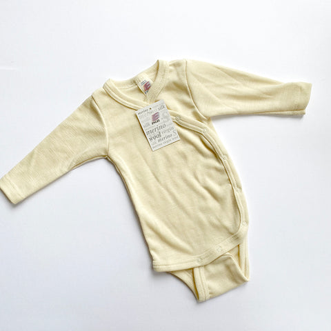 Engel: Merino Wool Body Suit - Natural Engel - Bon Tot