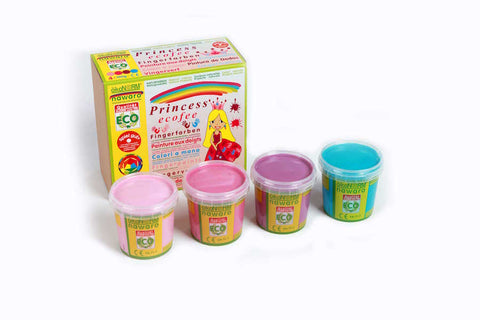 OkoNorm: Finger Paint 4 Pack - Princess Colours