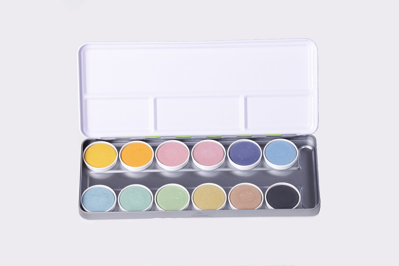 OkoNorm: 12 Natural Watercolour Paints in Metal Case