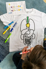 Koa Koa: Colour the Organs T-shirt - 8 years