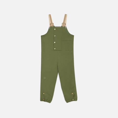 Faire Child: Midi Rain Dungaree - Balsam Faire Child - Bon Tot