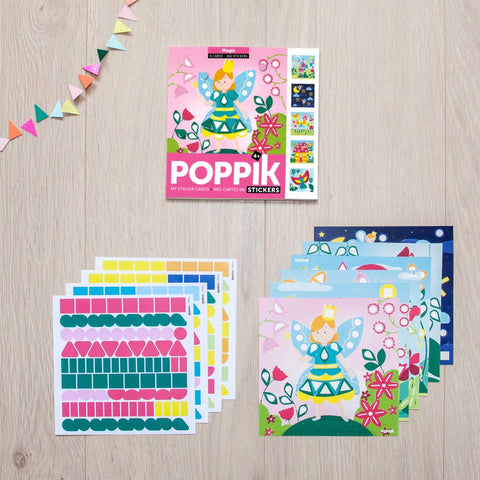 Poppik: Creative Sticker Cards - Magic