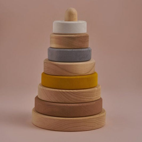 Raduga Grez: Small Stacking Tower - Sand