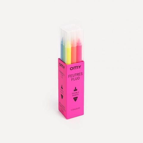 OMY: Markers - Neon OMY Colouring Prints - Bon Tot