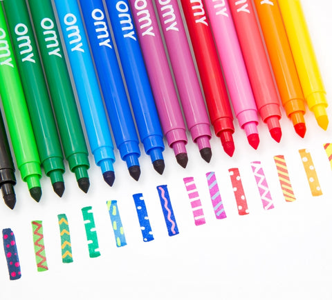 OMY: Magic Felt Pens OMY Colouring Prints - Bon Tot