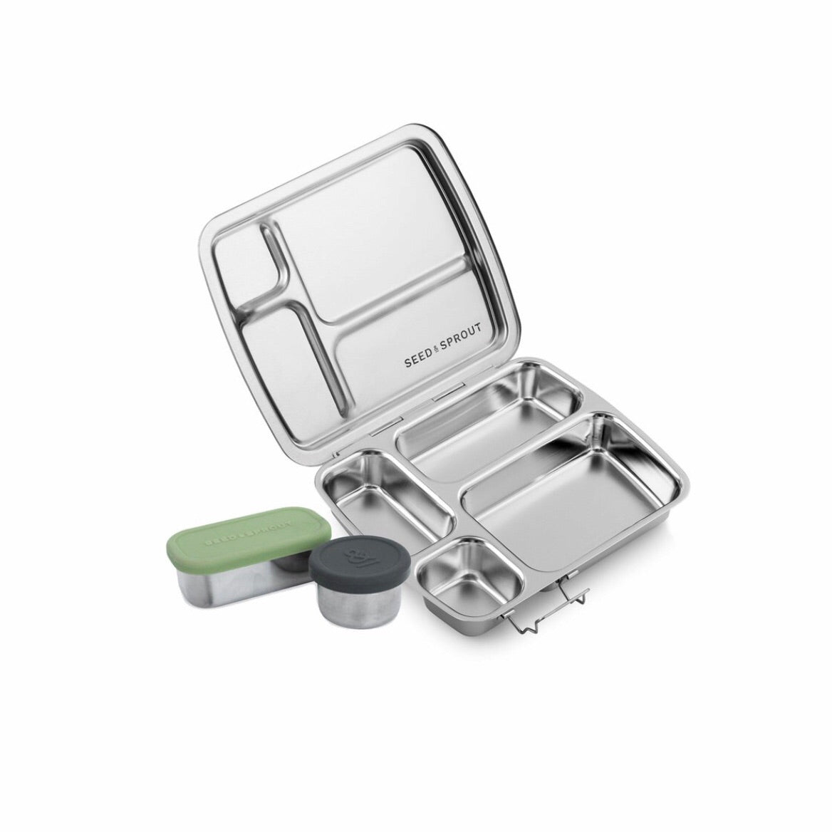 Seed & Sprout Stainless Steel Lunchbox Seed & Sprout - Bon Tot
