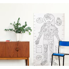 OMY: XXL Colouring Poster - My Body