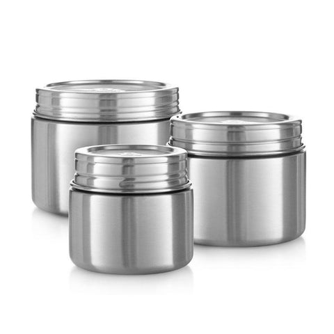 Seed & Sprout Stainless Steel Tufferware Trio