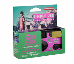 Lomography: Simple Use Camera - Purple Bon Tot - Bon Tot