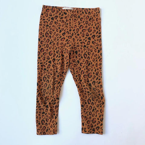 Bon Voyage: Tinycottons Leopard Leggings size 4 years