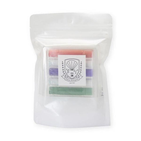 kitpas: 6 pack Dustless Chalk - Marble Colours kitpas - Bon Tot