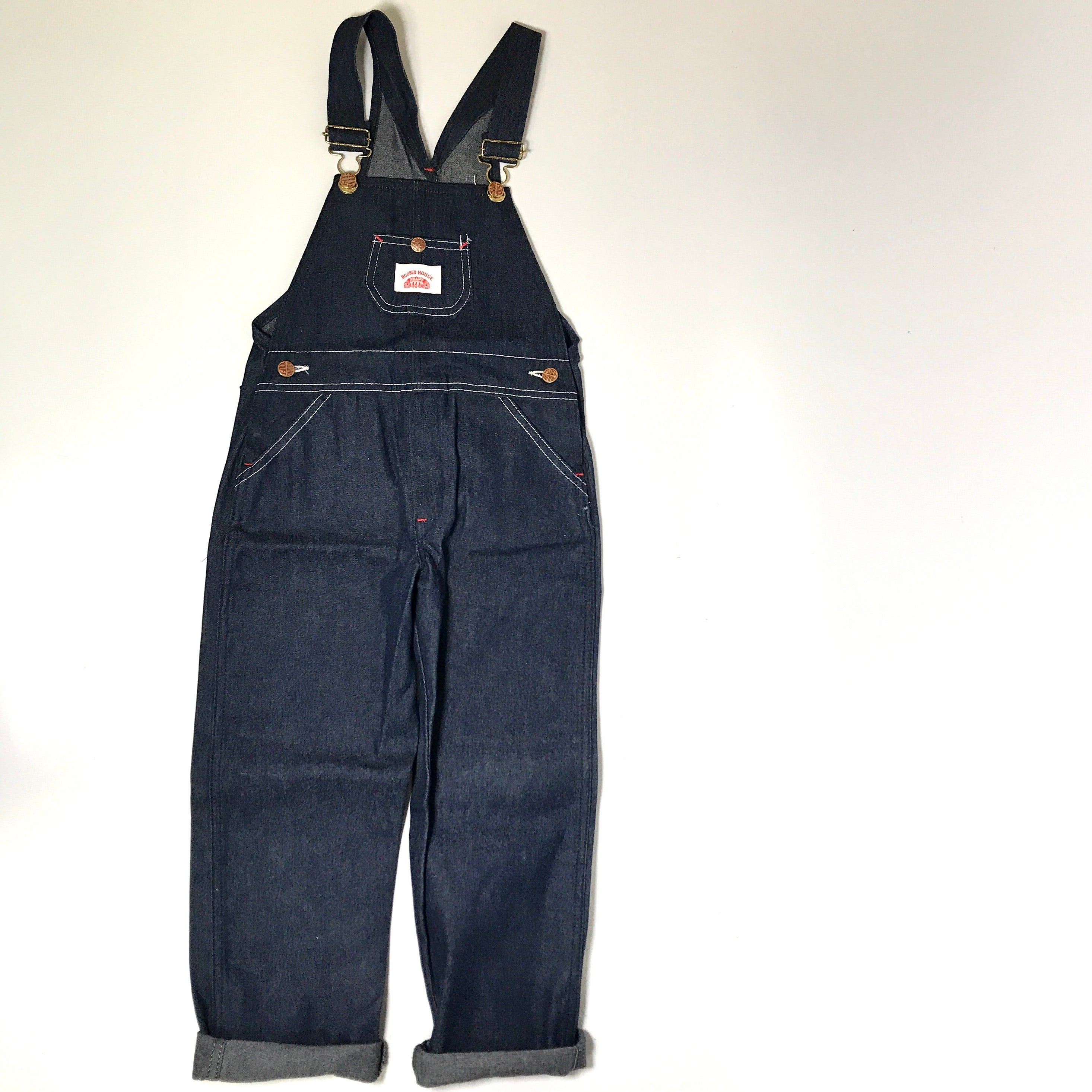 Bon Tot Vintage: Roundhouse Overalls size 7/8 years