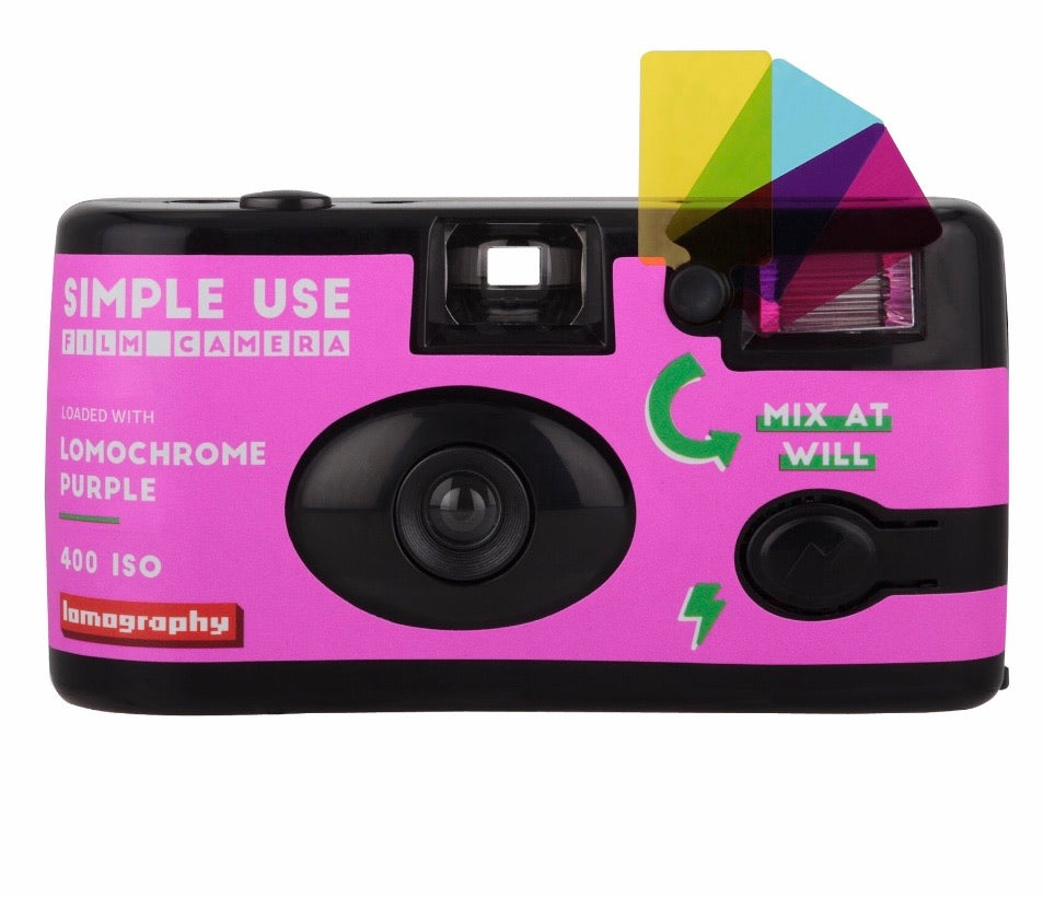 Lomography: Simple Use Camera - Purple