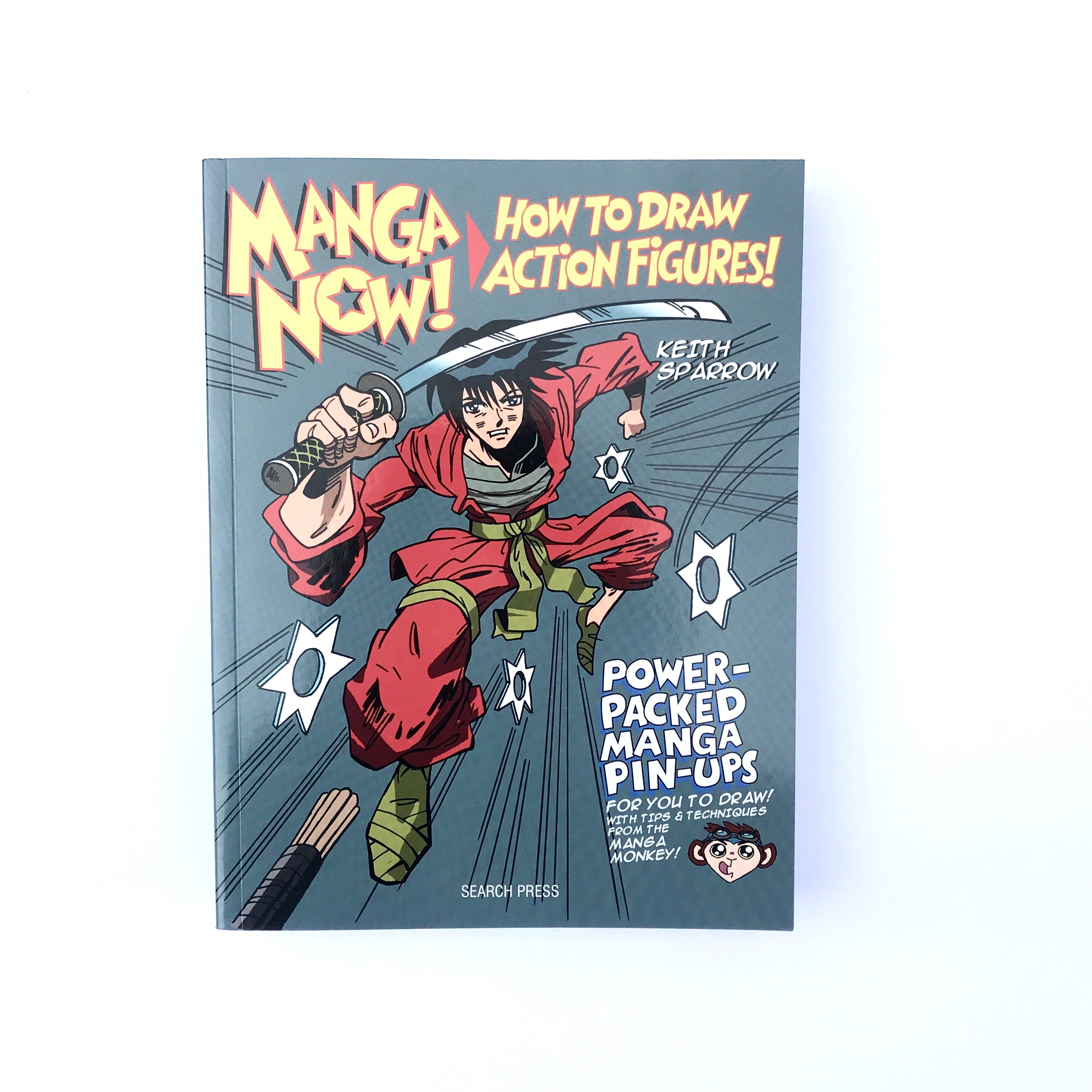 Craft Book: Manga Now! How To Draw Action Figures