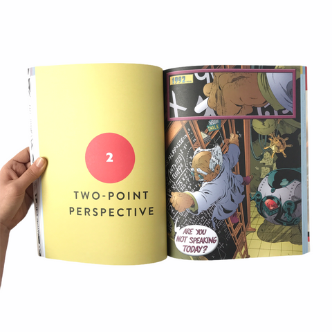 Craft Book: The Comic Book Artist's Workbook: Perspective