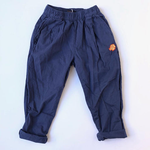 Bon Voyage: Tinycottons Blue Trousers size 6 years