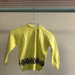 Bon Voyage: Vintage Sweater size 2-3 years