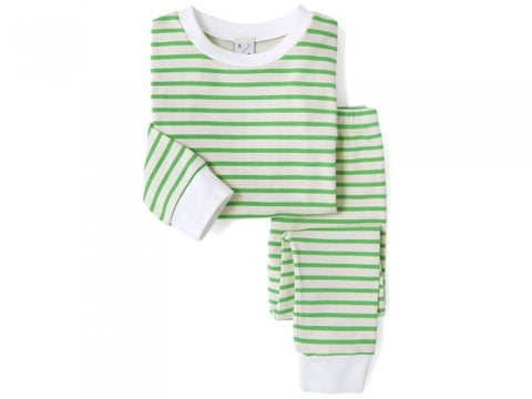 Bon Voyage: Sleepy Doe Green Breton PJs (multiple sizes)