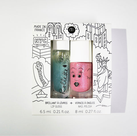 Nailmatic Gloss and Polish Duo Set: New York City