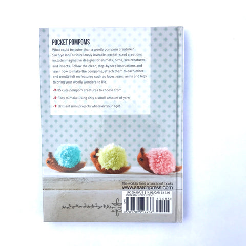 Craft Book: Pocket Pom Poms Craft Books - Bon Tot