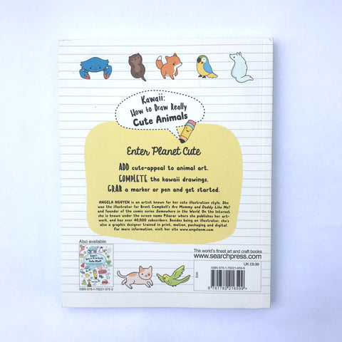 Craft Book: Kawaii Cute Animals Craft Books - Bon Tot