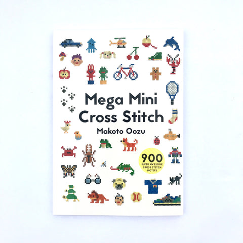 Craft Book: Mega Mini Cross Stitch Craft Books - Bon Tot
