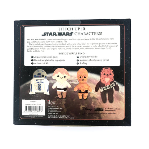 Craft Book: Star Wars Felties Craft Books - Bon Tot