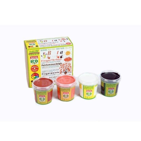 OkoNorm: Finger Paint 4 Pack - B Colours