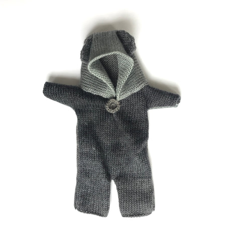Bon Tot Apparel: Paola Reina Knitted Teddy Suit - Domjno