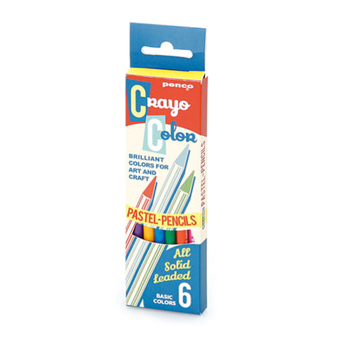 Hightide Penco: Colouring Pencil Set 6 Hightide Penco - Bon Tot