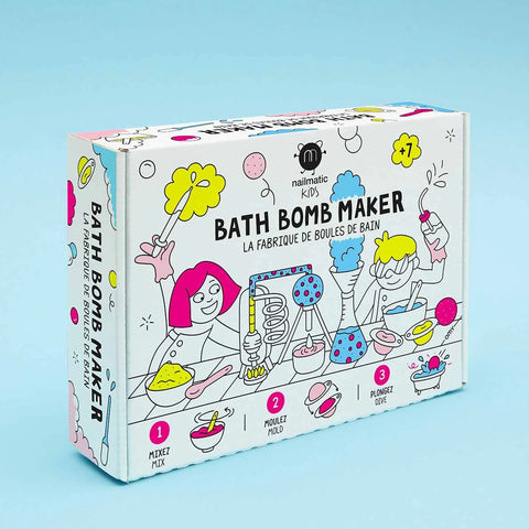 Nailmatic Bath Bomb: Bath Bomb Maker Kit Nailmatic - Bon Tot